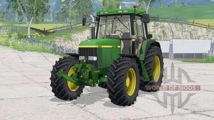 John Deere 6810〡folding front linkage для Farming Simulator 2015