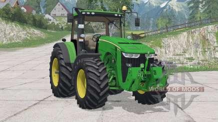 John Deere 8370R〡new driving physics для Farming Simulator 2015