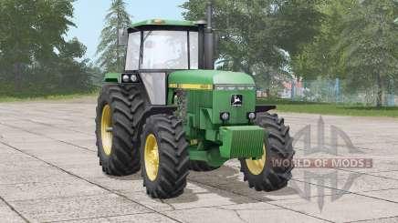 John Deere 4050 series〡lenkung real eingestellt для Farming Simulator 2017