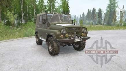 УАЗ-469〡5 вариантов для MudRunner