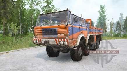 Tatra T813 8x8 для MudRunner