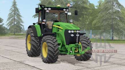 John Deere 7030 series〡updated texture для Farming Simulator 2017