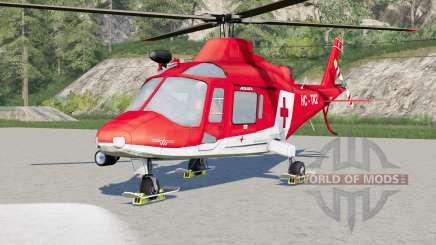 Agusta A.109 K2 Air Ambulance для Farming Simulator 2017