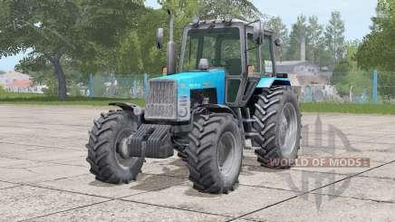 MTZ-1221 Belarus〡movable front axle для Farming Simulator 2017