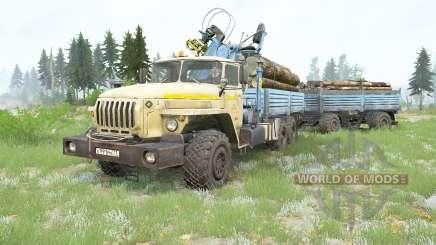 Ural-4320-40 v3.0 для MudRunner
