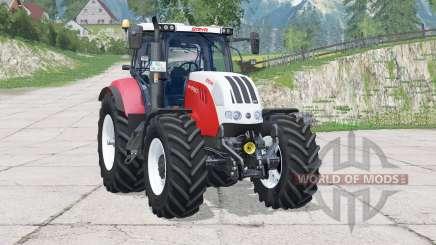 Steyr 6160 CVT〡folding front linkage для Farming Simulator 2015