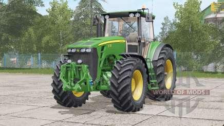 John Deere 8030 series〡fixed error in front axle для Farming Simulator 2017