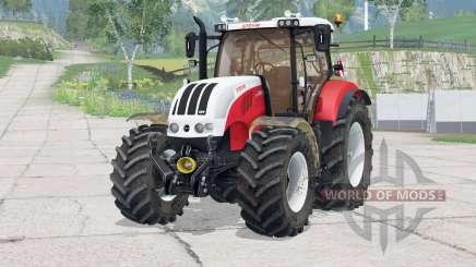 Steyr 6230 CVT〡dynamic exhaust для Farming Simulator 2015