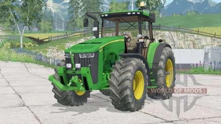 John Deere 8370R〡folding front hitch для Farming Simulator 2015