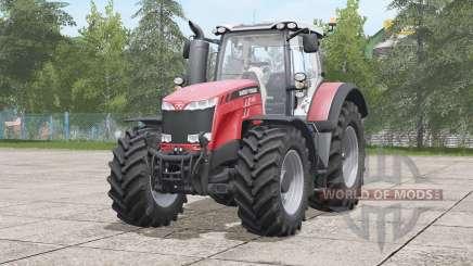 Massey Ferguson 8700 serieꞩ для Farming Simulator 2017