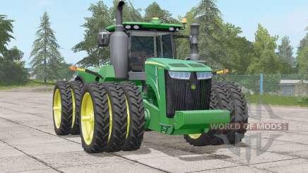 John Deere 9R series〡HP range 370-620 для Farming Simulator 2017