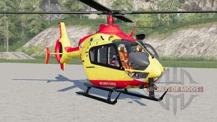 Eurocopter EC145 Securite Civile для Farming Simulator 2017