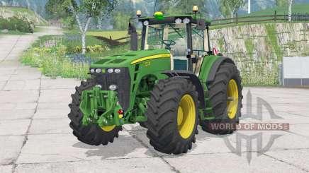 John Deere 8030 series для Farming Simulator 2015
