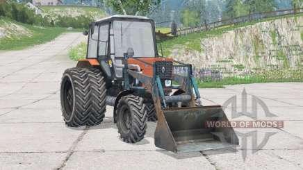 МТЗ-82.1 Беларус〡с фронтальным погрузчикоᴍ для Farming Simulator 2015