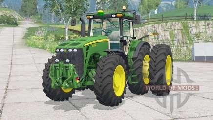 John Deere 8530〡buyable twin wheels для Farming Simulator 2015