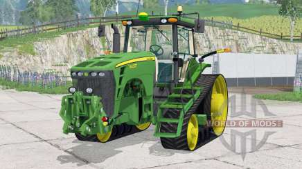 John Deere 8430T〡animated front and rear wipers для Farming Simulator 2015