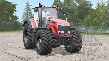 Massey Ferguson 8700 series〡animated seat suspension для Farming Simulator 2017
