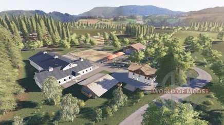 České Slezsko для Farming Simulator 2017