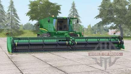 John Deere S690ᶖ для Farming Simulator 2017