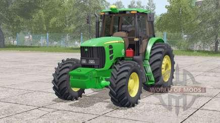 John Deere 6180 J〡includes front weight для Farming Simulator 2017