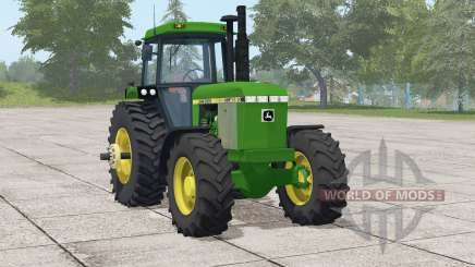 John Deere 4050 series〡with or without fenders для Farming Simulator 2017