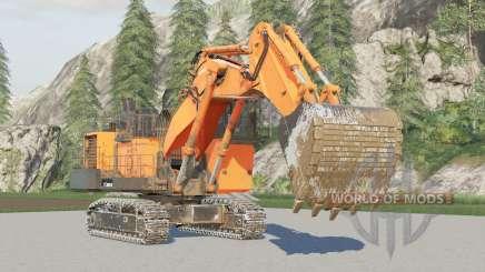 Hitachi EX2600〡mining excavator для Farming Simulator 2017