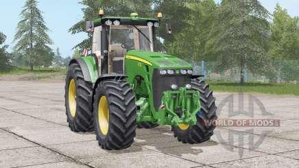 John Deere 8030 series〡neue visuelle konfigurationen для Farming Simulator 2017