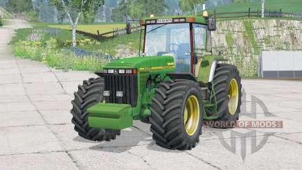 John Deere 8400〡folding steering column для Farming Simulator 2015