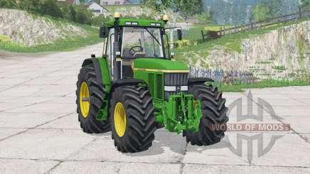 John Deere 7810〡new dynamic exhausting system для Farming Simulator 2015