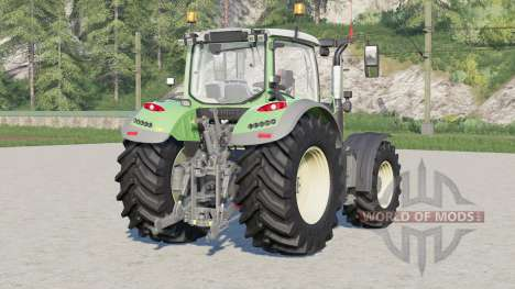 Fendt 700 Vario〡wheel configurations для Farming Simulator 2017