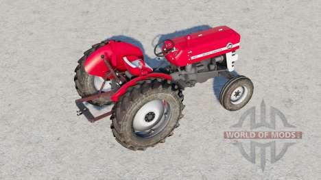 Massey Ferguson 135〡movable front axle для Farming Simulator 2017