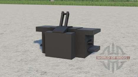 Case IH weight 1000 kg. для Farming Simulator 2017