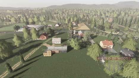 Skrzyszów v1.0.1 для Farming Simulator 2017