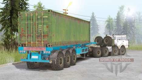 Tatra T813 8x8 v2.0 для Spin Tires