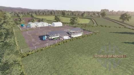 West Newton Farm для Farming Simulator 2017