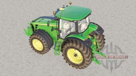John Deere 8R series〡back fenders configuration для Farming Simulator 2017