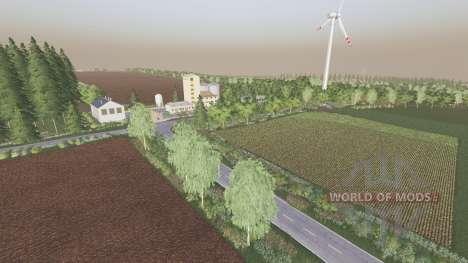 Central Germany v1.7.1.3 для Farming Simulator 2017