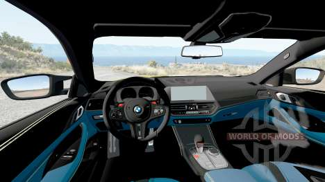 BMW M4 Competition (G82) 2020 v1.2 для BeamNG Drive