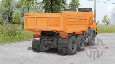 КамАЗ-5511 v1.1 для Spin Tires