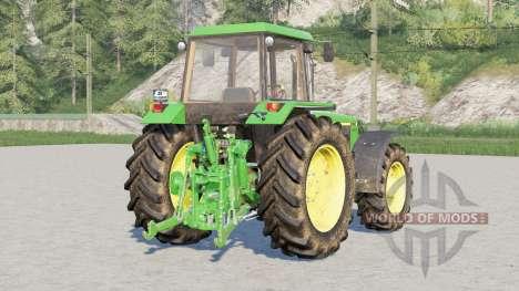 John Deere 3050 series〡wheels selection для Farming Simulator 2017