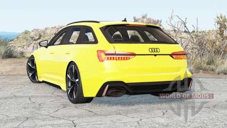Audi RS 6 Avant (C8) 2019 v2.2 для BeamNG Drive