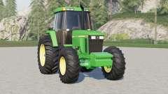 John Deere 7010 series〡wheels selection для Farming Simulator 2017