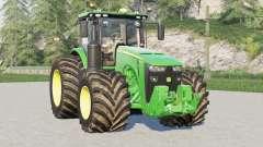 John Deere 8R series〡64 wheels configurations для Farming Simulator 2017