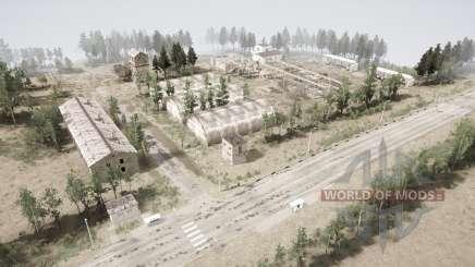 Ракетная база для MudRunner