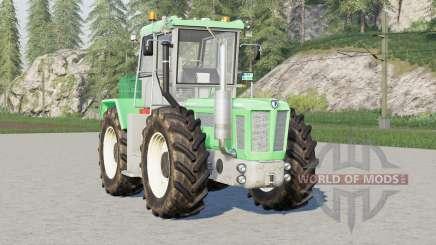 Schlüter Super-Trac 2500 VL〡sound revised для Farming Simulator 2017