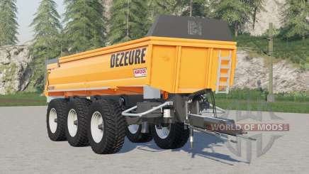Dezeure TPX 36S для Farming Simulator 2017