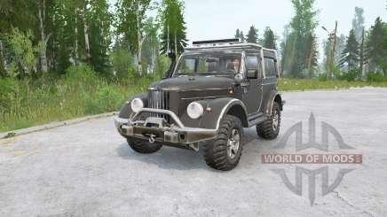 ГАЗ-69 модернизированный для MudRunner