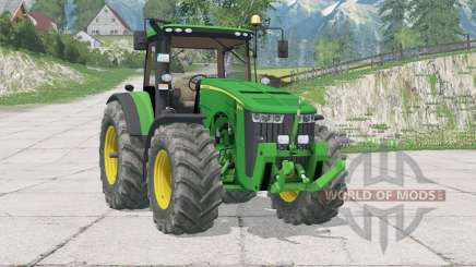 John Deere 8370R〡fixed some bugs для Farming Simulator 2015