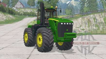 John Deere 9630〡adjusted mass of tractor для Farming Simulator 2015