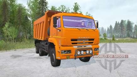 КамАЗ-6522-53〡присутствуют свои грузы для MudRunner